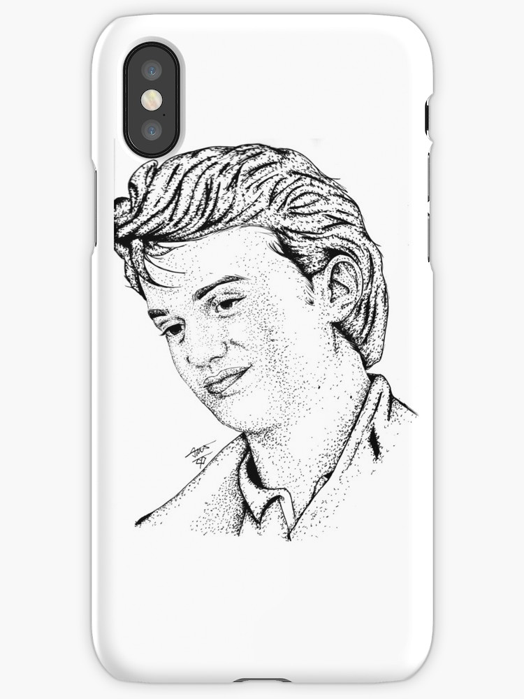 750x1000 Steve Harrington Drawing Art Iphone Cases Amp Skins By
