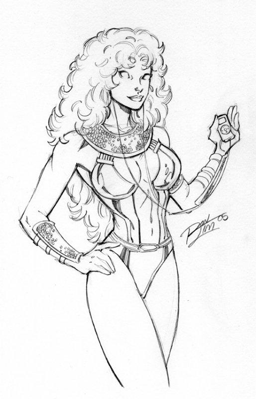 514x800 Starfire And Ipod Mini, In Brian Peck's Draw Me An Ipod! Comic Art