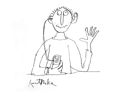 460x320 Ipod Illustration By Quentin Blake