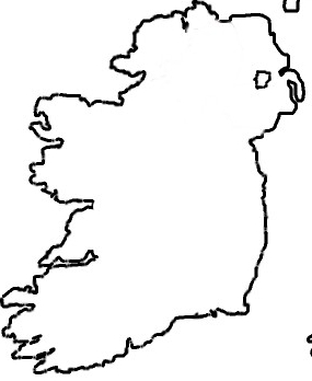 Simple Map Of Ireland.The Best Free Ireland Drawing Images Download From 171 Free