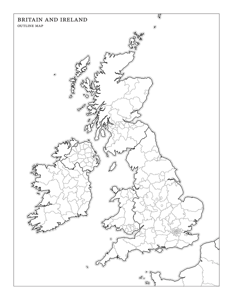 graphic relating to Map of Ireland Printable titled Eire Map Drawing at  Totally free for unique
