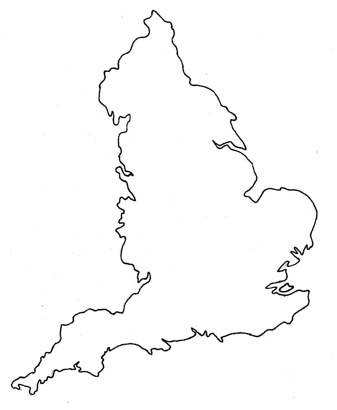 image regarding Printable Map of Uk and Ireland titled Eire Map Drawing at  Absolutely free for person