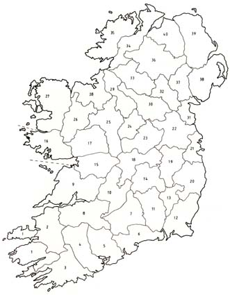 image about Ireland Map Printable referred to as Eire Map Drawing at  Cost-free for specific