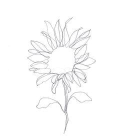 236x280 Original Abstract Minimalist Drawing Original Botanical