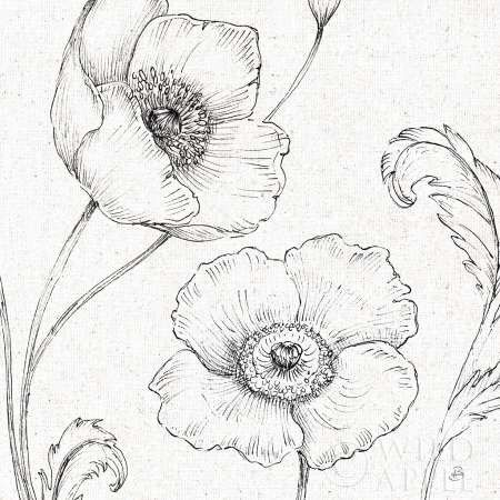 450x450 Blossom Sketches I Art Print Professional Photographer And Products