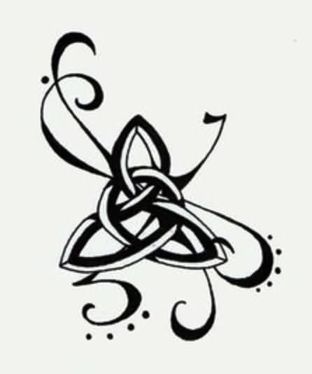 446x534 Irish Pride Claddagh Tattoo On Stomach Beautiful