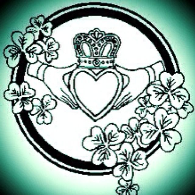 640x640 The Claddagh Is An Old Irish Symbol That Represents Love, Loyalty