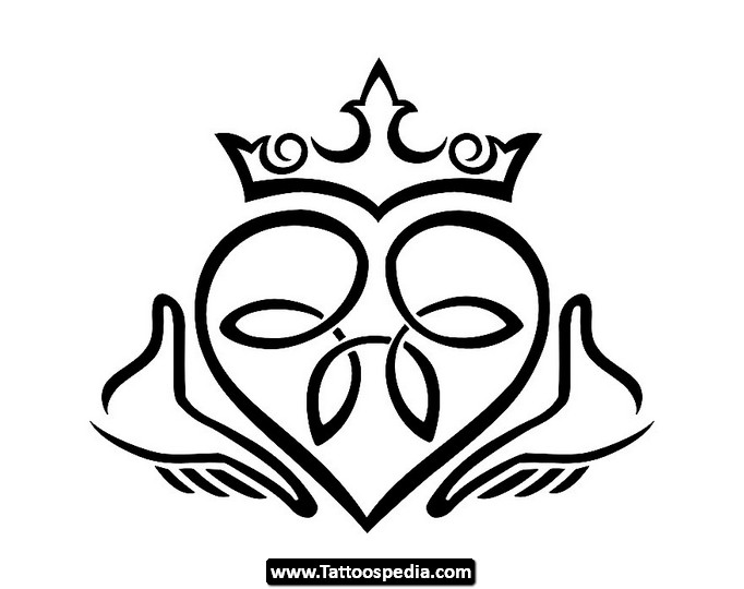 Irish Claddagh Drawing At Getdrawings Free For Personal Use
