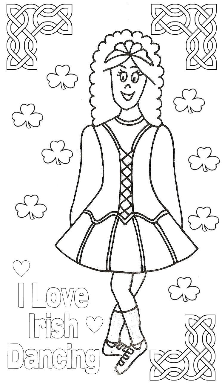 Irish Dance Drawing at GetDrawings.com | Free for personal use Irish ...