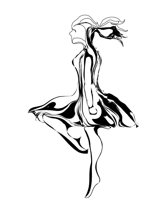 695x900 Irish Dancer Digital Art By Michael Lee