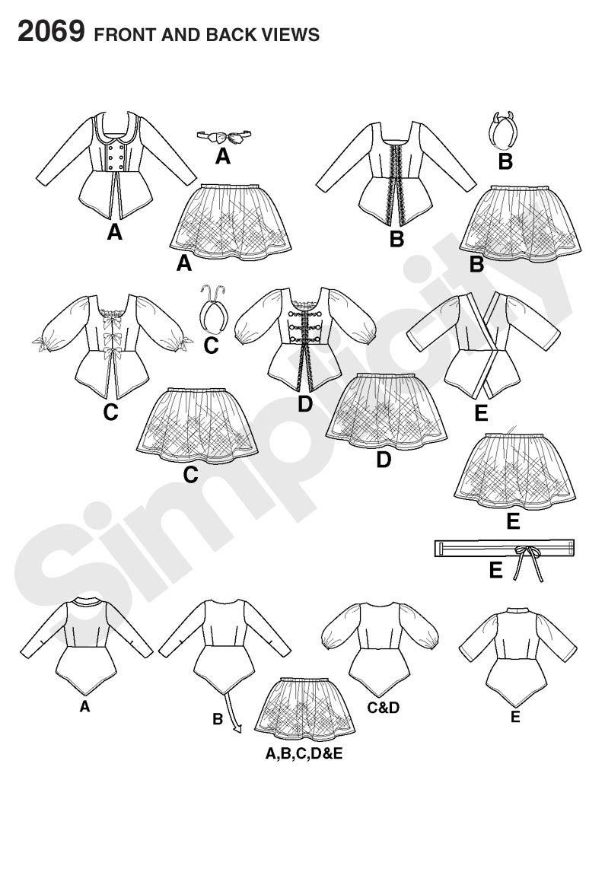 795x1142 Might Work For 2 Piece Irish Dance Dress Pattern Irsko