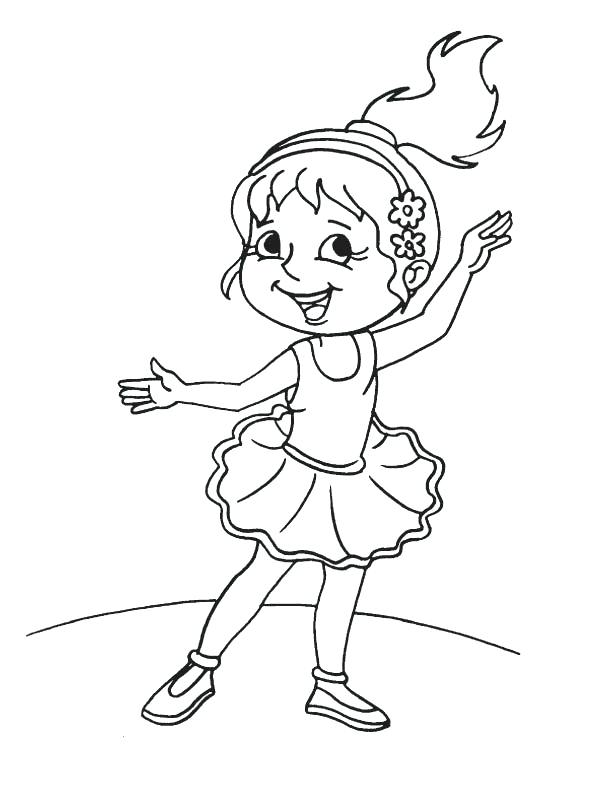 612x792 Dance Coloring Pages I Love Dancing Colouring Page Dance Images