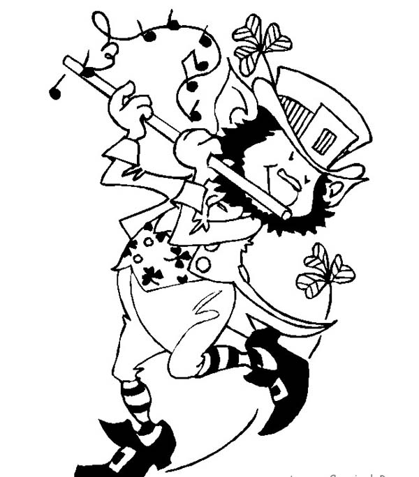 600x684 music and dance coloring pages - Irish Coloring Pages