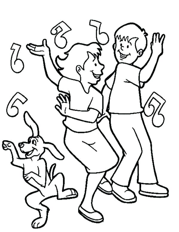600x775 Dance Coloring Pages And Dance Coloring Pages To Print Irish Dance