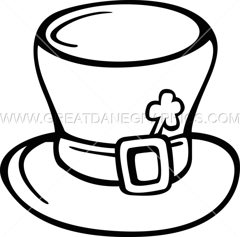825x813 Irish Hat Production Ready Artwork For T Shirt Printing