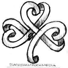 225x224 Drawings Of Shamrocks