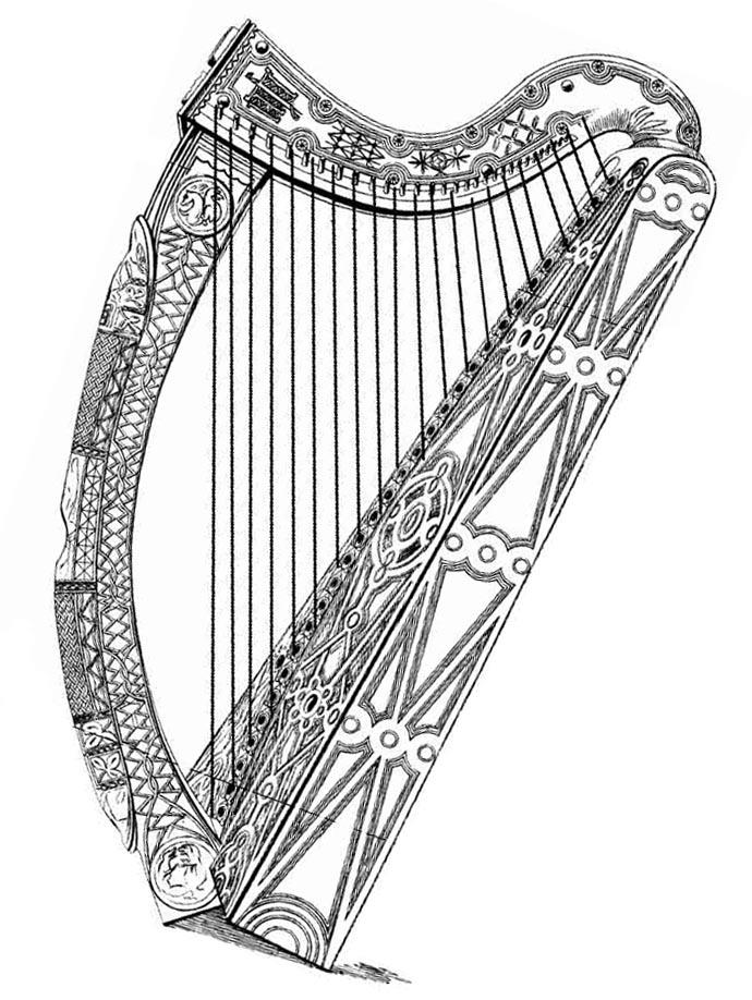 690x918 Ireland Is The Only Country In The World With A Musical Instrument