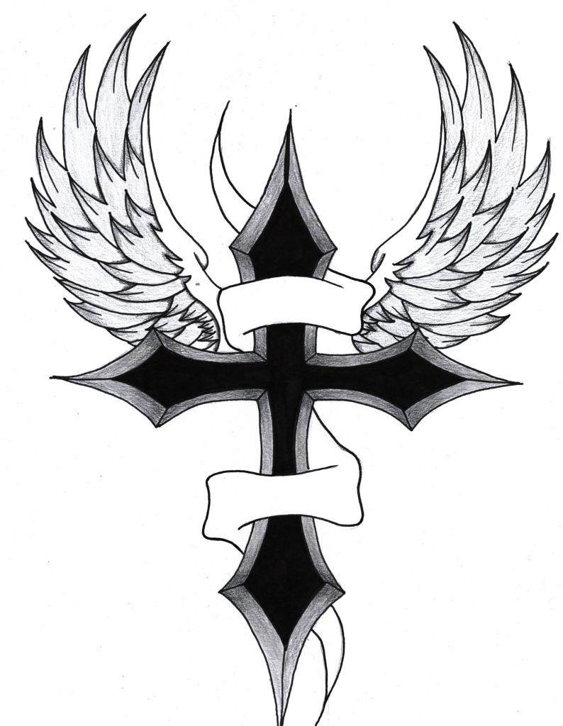 794x1024 Drawings Of Crosses