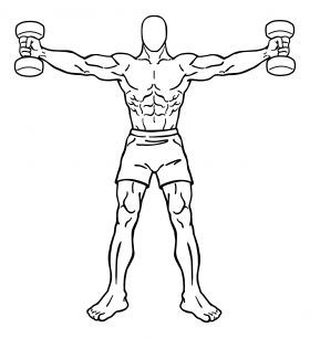 280x306 The Best Trap Exercises For Mass Beast Mode, Biceps And Exercises