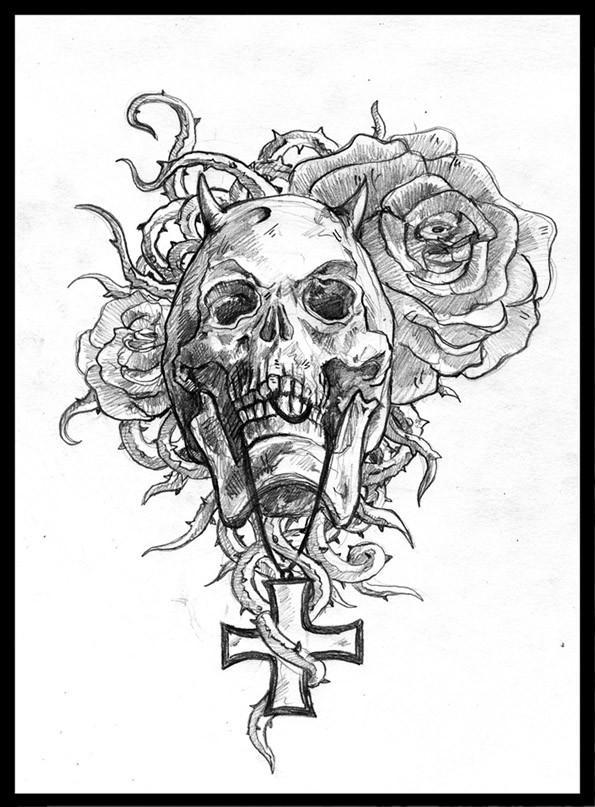 595x807 Back Tattoo Making Irish Tattoos Designs