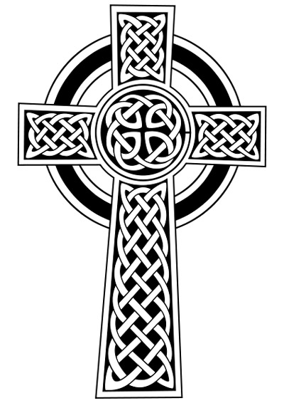 400x566 Best Tribal Tattoo Gallery Iron Cross Sticker