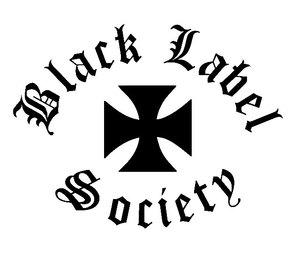 300x254 Black Label Society Iron Cross Logo Vinyl Decal Sticker Cricut