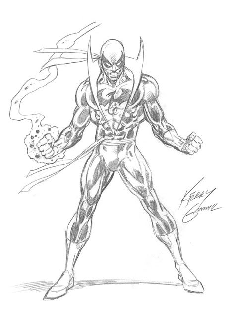 Iron Fist Drawing
