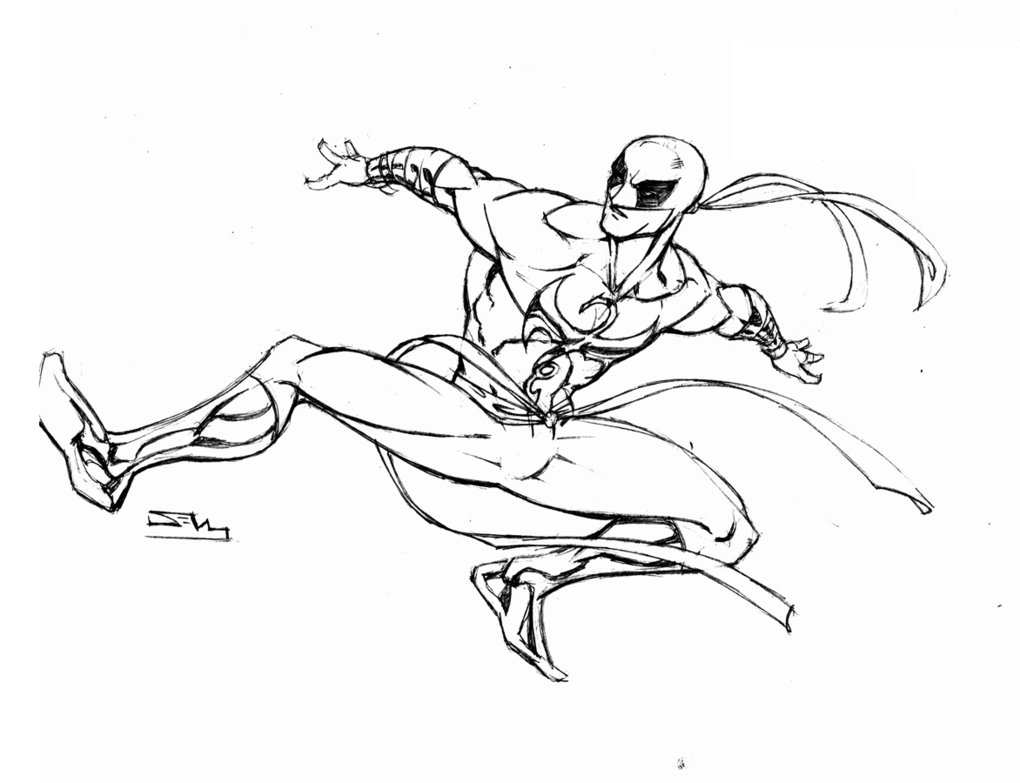 1020x783 Iron Fist White Costume By Thecreatorhd