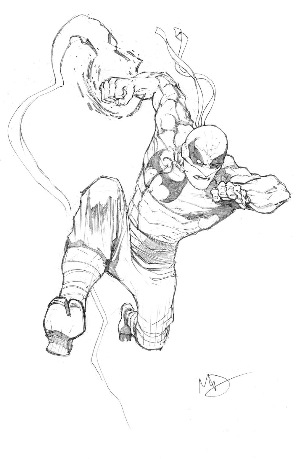 1000x1548 Iron Fist By Max Dunbar Inspiration Iron Fist