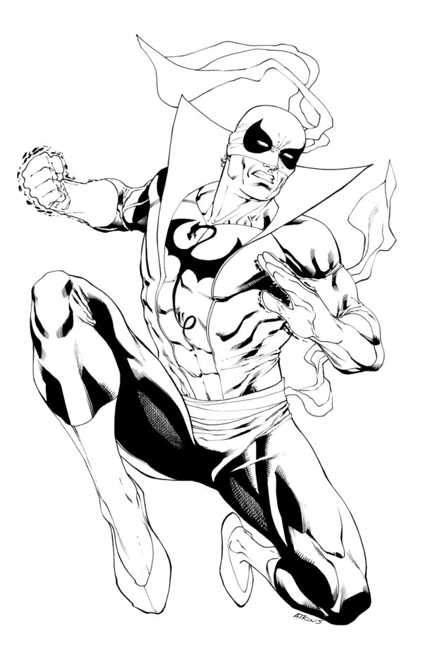 600x934 Iron Fist By Robert Atkins Comics Iron Fist, Iron