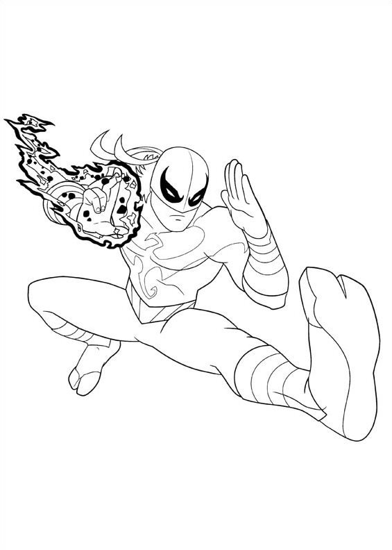 565x792 Kids N 16 Coloring Pages Of Ultimate Spider Man