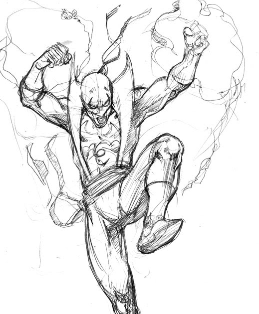 519x630 Immortal Iron Fist Dave Stokes Sketch Blog