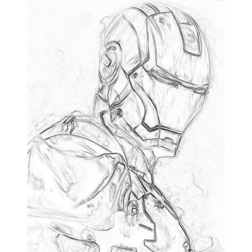Iron Man 2 Drawing