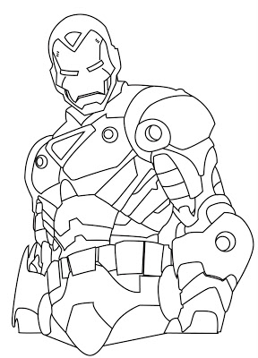 288x400 Iron Man 2 Coloring Pages Collections Choosboox