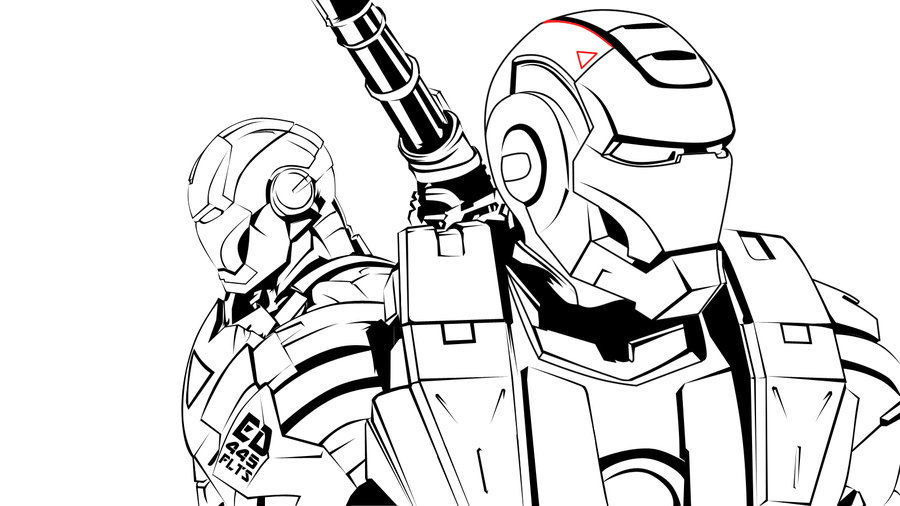 900x506 Iron Man 2 Partners By Superjabba425