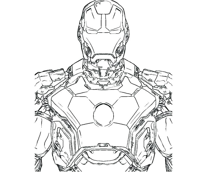800x667 Printable Ironman Coloring Pages Printable Coloring Pages