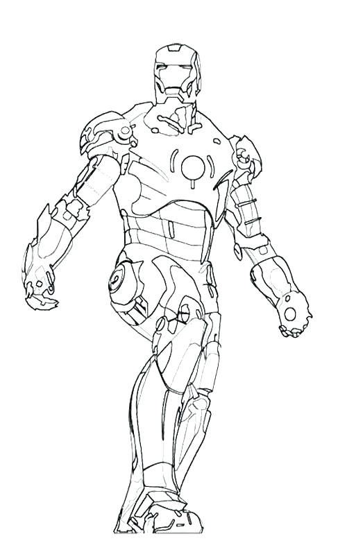 500x806 Iron Man Coloring Sheets Iron Man Coloring Pages Online Iron Man