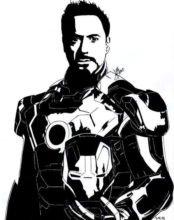 600x756 Tony Stark The Iron Man By Daegstone