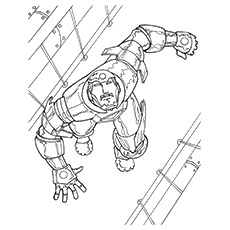 230x230 Top 20 Free Printable Iron Man Coloring Pages Online