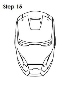 236x305 How To Draw Iron Man Step 14 Homemade Lemonade