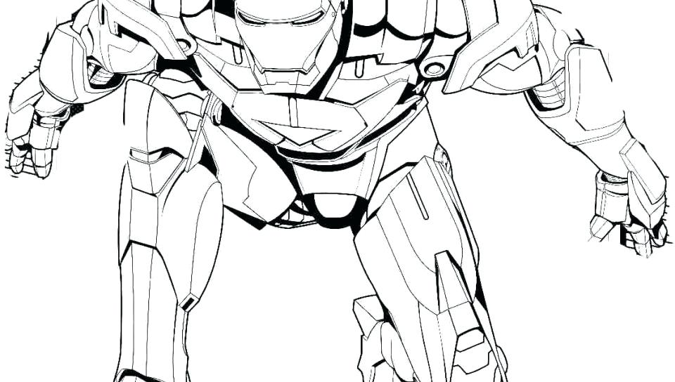 960x544 Iron Man 3 Coloring Pages Cartoon Page Avengers Free Pictures