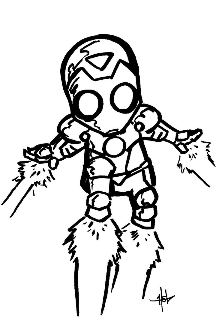 730x1095 Iron Man Chibi By Creeeeeees