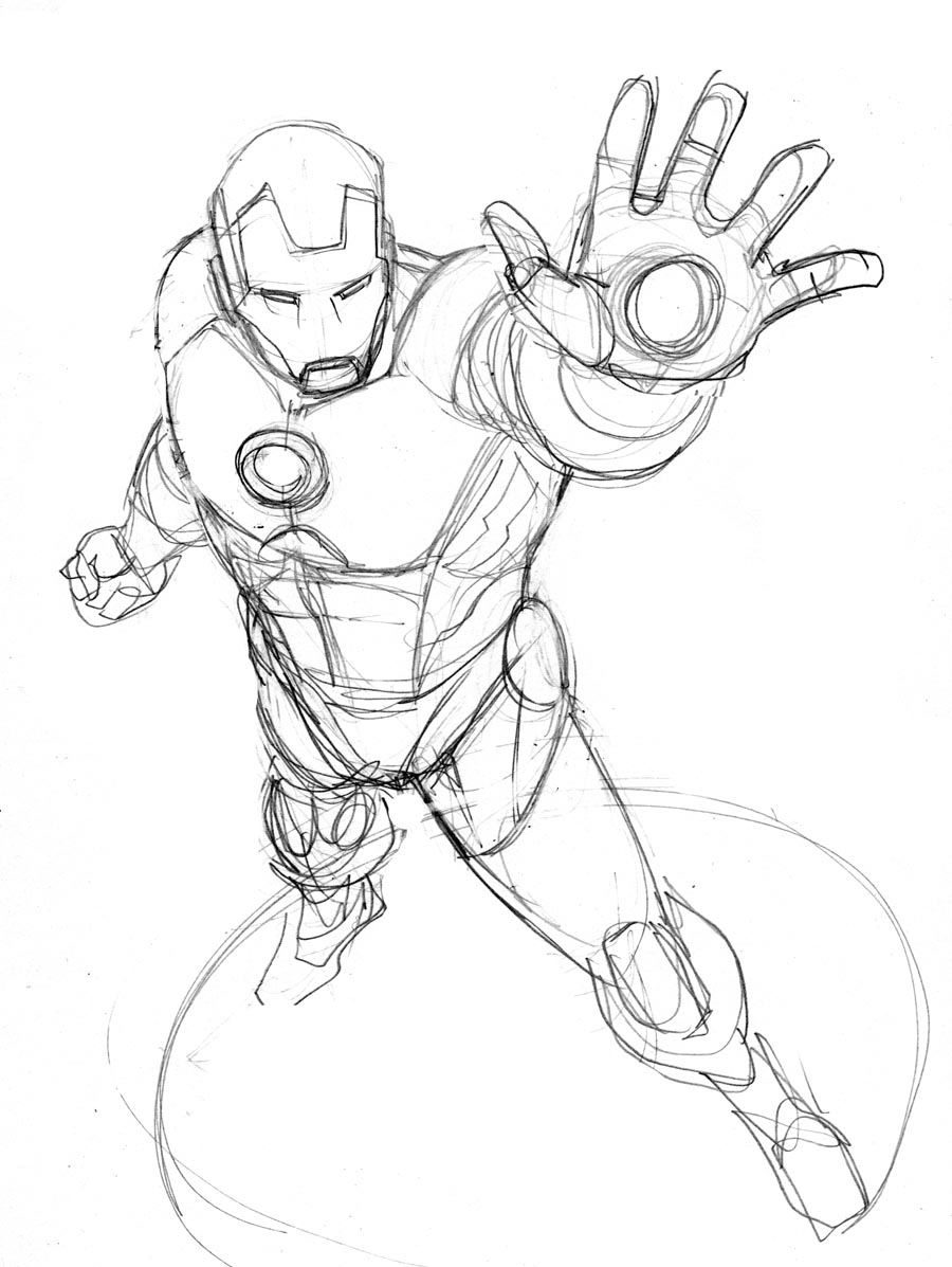 900x1197 Iron Man Robert Atkins Art