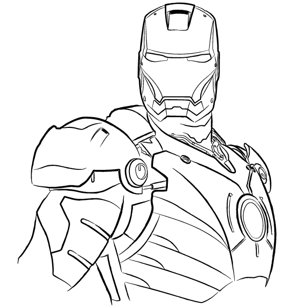 600x600 Ironman By Davidblade
