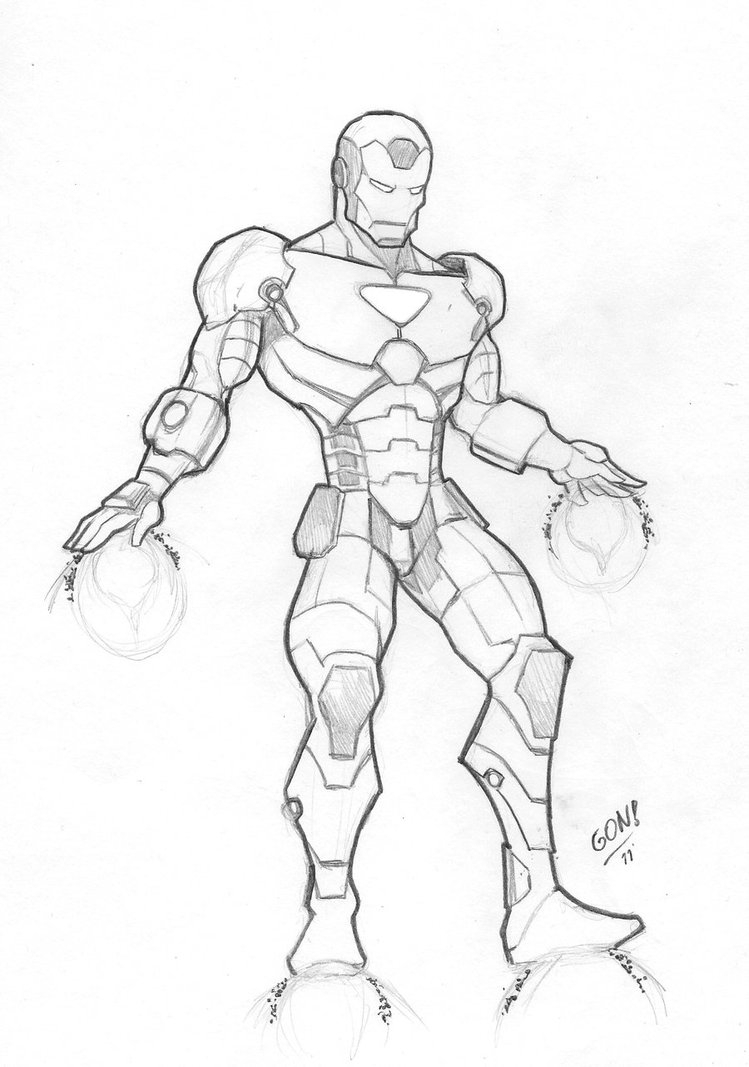 749x1067 Cartoon Iron Man Drawing Iron Man Outline Drawing Pictures To Pin