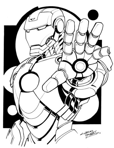 400x517 Comic Shop Iron Man By Kidnotorious