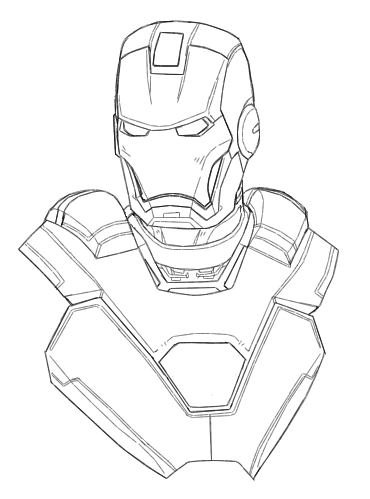 Iron Man Drawing at GetDrawings com | Free for personal use Iron Man