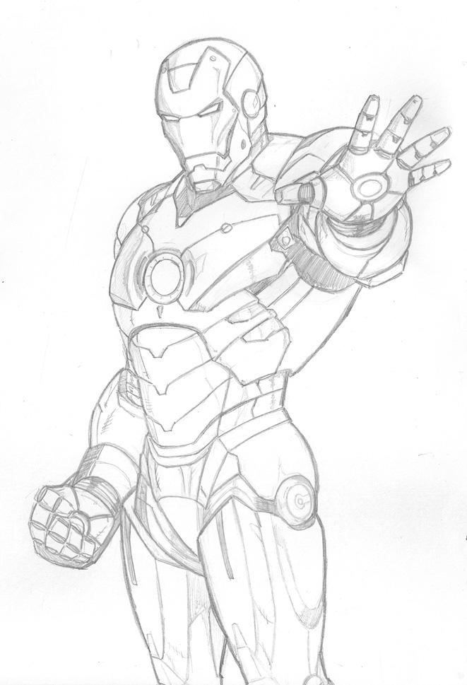661x969 Iron Man Mark Iv By Taj P