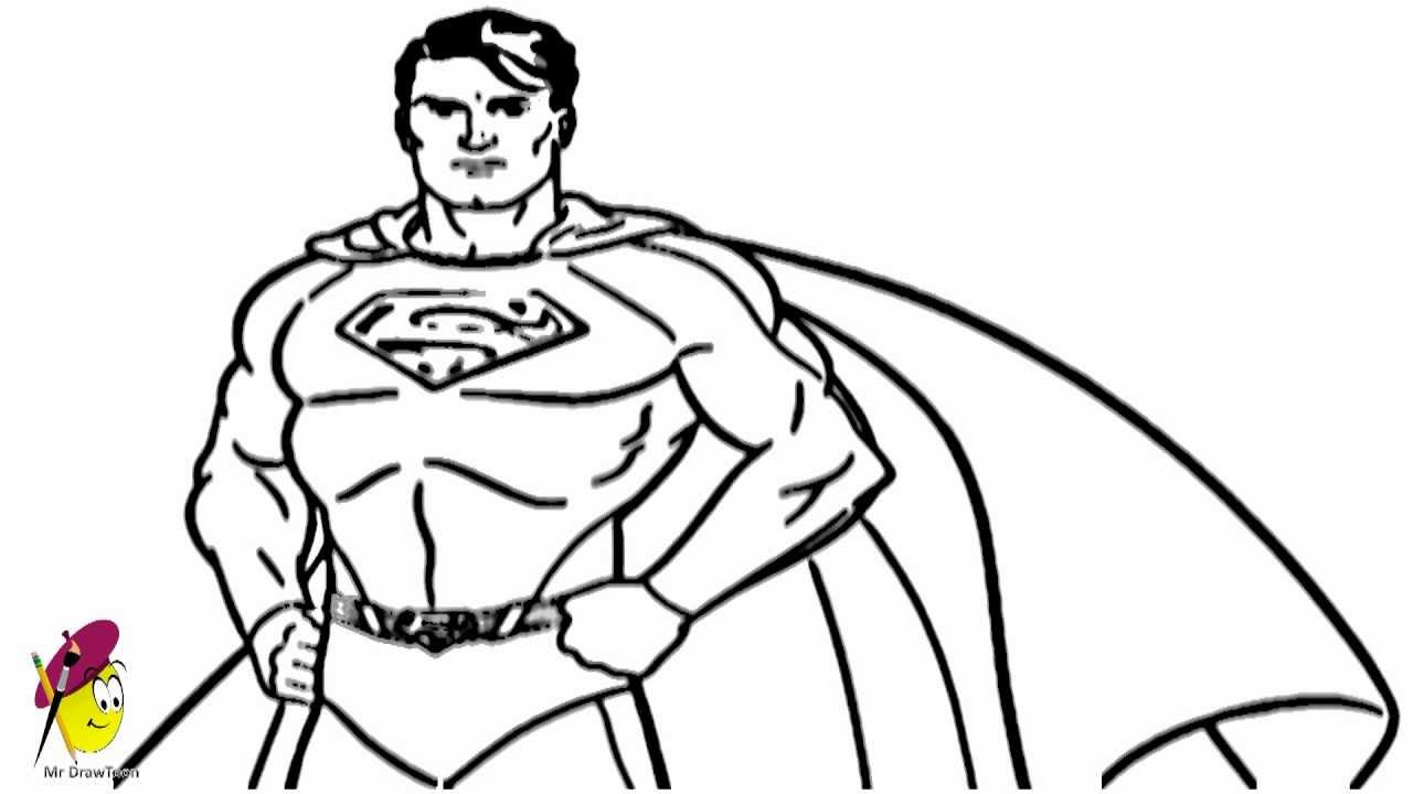 1280x720 How To Draw Superman From Superman Series