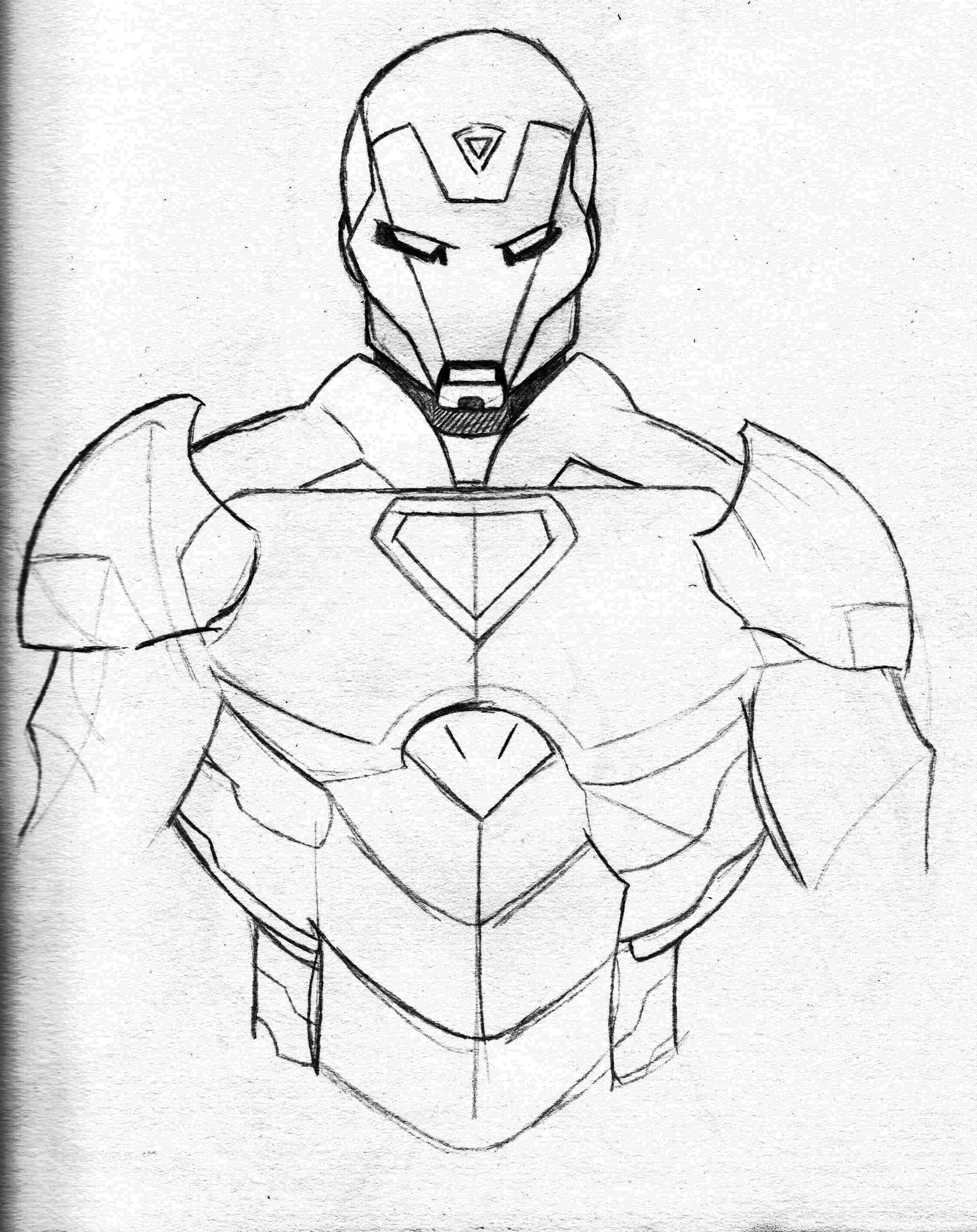 2263x2851 Last Bing Queries Amp Pictures For Easy Iron Man Sketch
